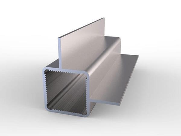 تيوبات مربعة ذات فلنجات ألمنيوم مصنع مقاطع ألمنيوم Jma Aluminium